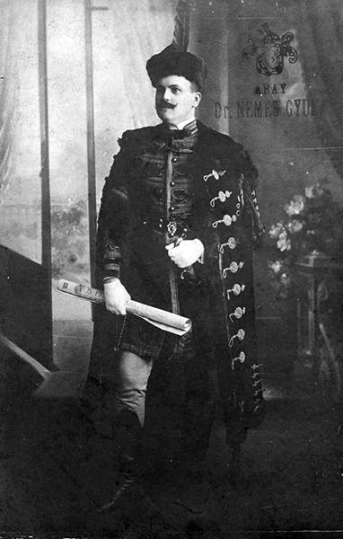 Dr. Abay Nemes Gyula